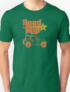 Road Trip in a Jeep Unisex T-Shirt