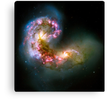 Antennae Galaxies Canvas Print