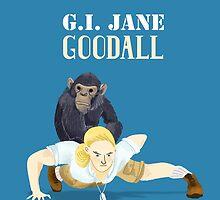 G.I. Jane Goodall by ladypuns