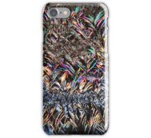 The form of fragrance: Coumarin crystals under the Microscope iPhone Case/Skin