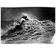 Winter Waves At Pipeline 13 Poster