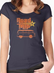 Road Trip in a Van Women's Fitted Scoop T-Shirt