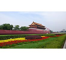 Tiananmen Square Photographic Print