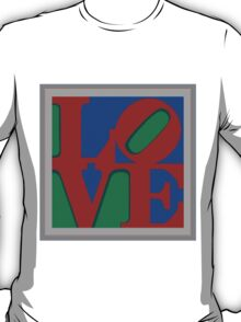 Knitted love Poster T-Shirt