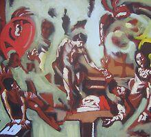 Caravaggio Variation by Jedika