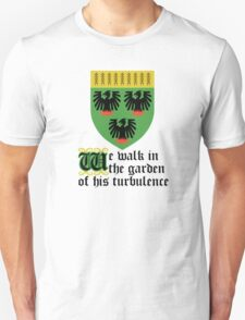 We walk in the garden of his turbulence T-Shirt