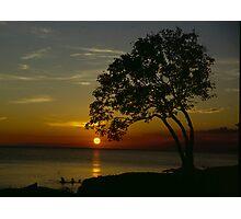 Sunset on Prospect Beach Photographic Print