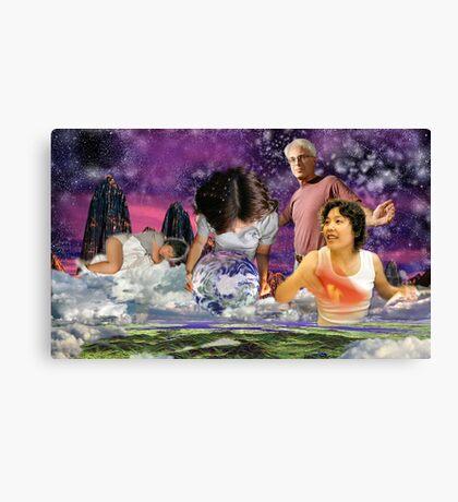 Global Watch - digital art Canvas Print