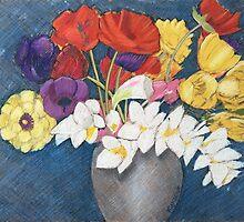Jean's Flowers by Richard Klekociuk