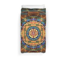 The Sri Yantra - Sacred Geometry Duvet Cover