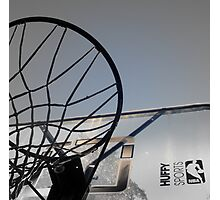BASKETBALL ANYONE? Photographic Print