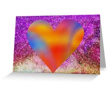 Heart Mirror  Greeting Card