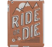 Ride or Die iPad Case/Skin