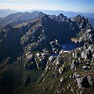 Western Arthurs Range, South-west Tasmania by Doug Thost