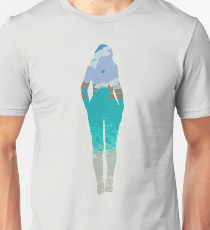 Beach in the Nude Unisex T-Shirt