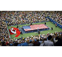 US Open final.... in minature.... Photographic Print