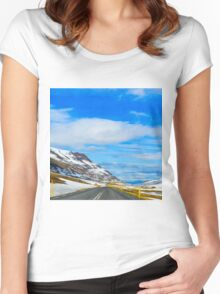 Eastfjords II Women's Fitted Scoop T-Shirt