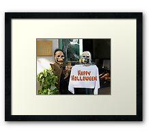 Happy Holloween Framed Print