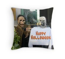 Happy Holloween Throw Pillow