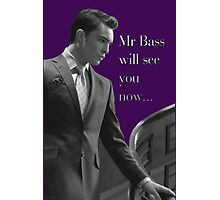 Mr Bass  Photographic Print