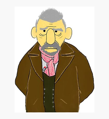 The War Doctor Muppet Style Photographic Print