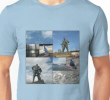 Ahoy there! Riverside Collage Unisex T-Shirt