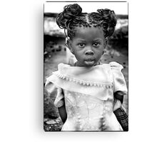 'Burberry Girl' HEAL Africa Hospital, Eastern Democratic Republic of Congo Canvas Print