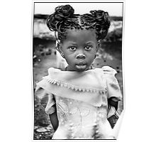 'Burberry Girl' HEAL Africa Hospital, Eastern Democratic Republic of Congo Poster