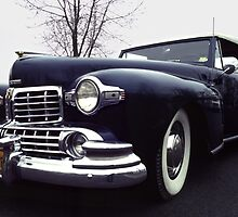 1947  Lincoln Rag-top on Moody Day by Anna Lisa Yoder