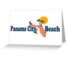 Panama City Beach - Florida. Greeting Card