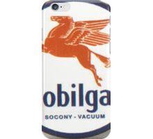 Mobilgas Mobil Oil Pegasus iPhone Case/Skin