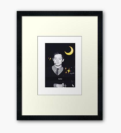 Elijah Wood Framed Print