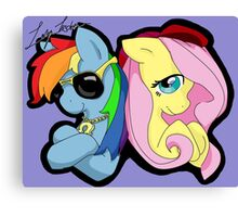 Ponies in the House Canvas Print