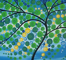 Tree of Life in Green by cathyjacobs
