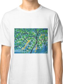 Tree of Life in Green Classic T-Shirt