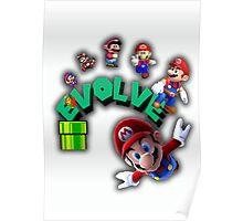 Mario Evolves Poster