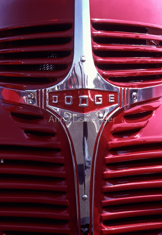 1938 Dodge Pickup Front End by Anna Lisa Yoder