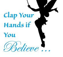 Clap Your Hands if You Believe, Tink by CoppersMama