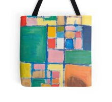 """""""checkers"""" modern fine art abstract painting Tote Bag"""