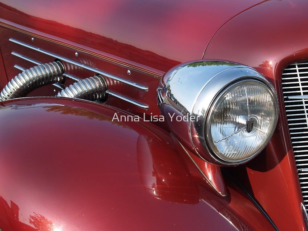1936 Auburn Speedster Detail by Anna Lisa Yoder