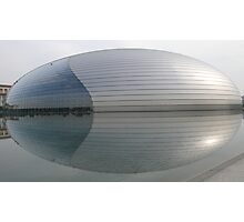 Beijing Opera House (The Egg) Photographic Print