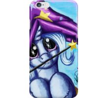 MLP: Trixie (Mommy I Wanna Be Just Like You) iPhone Case/Skin