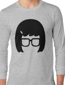 The Girl with the Glasses Long Sleeve T-Shirt