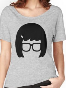 The Girl with the Glasses Women's Relaxed Fit T-Shirt