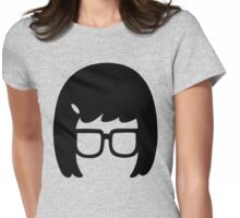 The Girl with the Glasses Womens Fitted T-Shirt