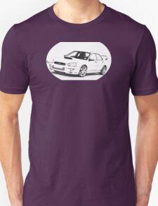 2004 Subaru Impreza WRX STi WR1 T-Shirt
