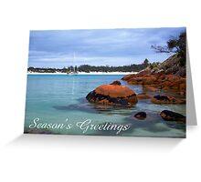 Wineglass Bay, Season's Greetings Greeting Card
