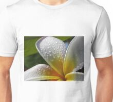 White plumeria #6, Big Island, Hawaii Unisex T-Shirt