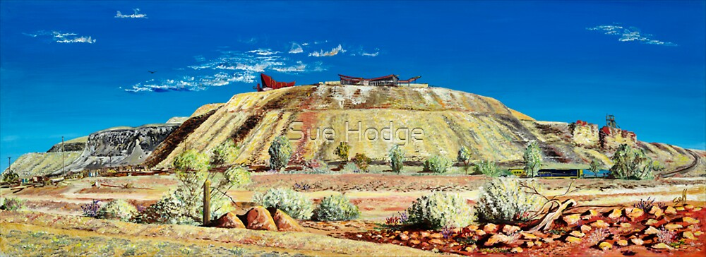 The Line of Lode - Broken Hill by Sue Hodge