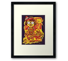 Waldo Would Rather Be Undead Than Cool Framed Print
